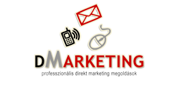 Logó: dm marketing